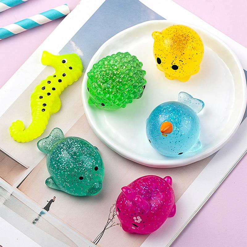 mochi fidget squishy animals fidget toy 4920 - Wacky Track
