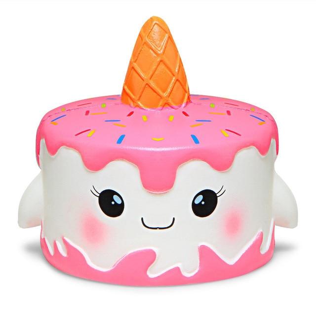 mochi fidget squishy cake fidget toy 6125 - Wacky Track