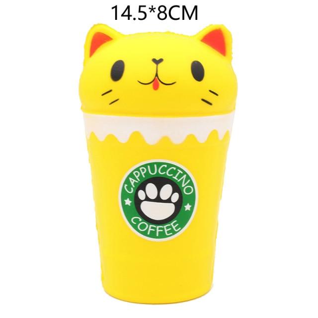 mochi fidget squishy coffee fidget toy 2023 - Wacky Track
