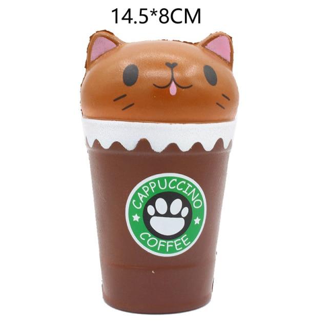 mochi fidget squishy coffee fidget toy 2659 - Wacky Track