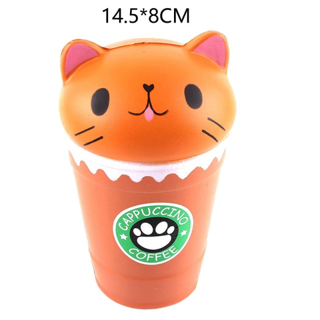 mochi fidget squishy coffee fidget toy 8341 - Wacky Track