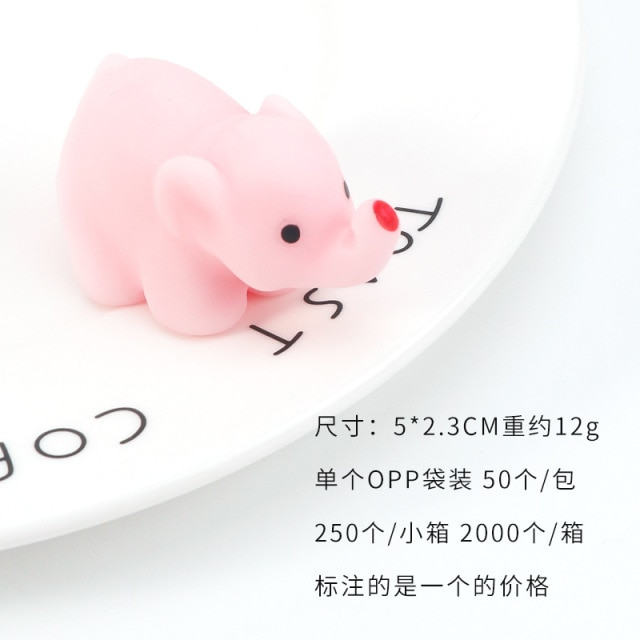 mochi fidget squishy cute animals fidget toy 2698 - Wacky Track