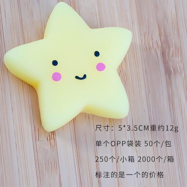 mochi fidget squishy cute animals fidget toy 2729 - Wacky Track