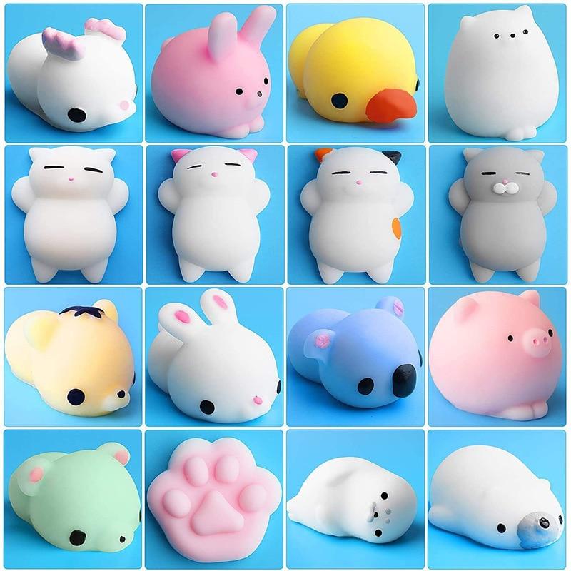 mochi fidget squishy cute animals fidget toy 3649 - Wacky Track