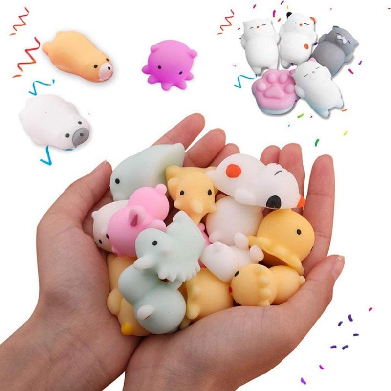 mochi fidget squishy cute animals fidget toy 5470 - Wacky Track