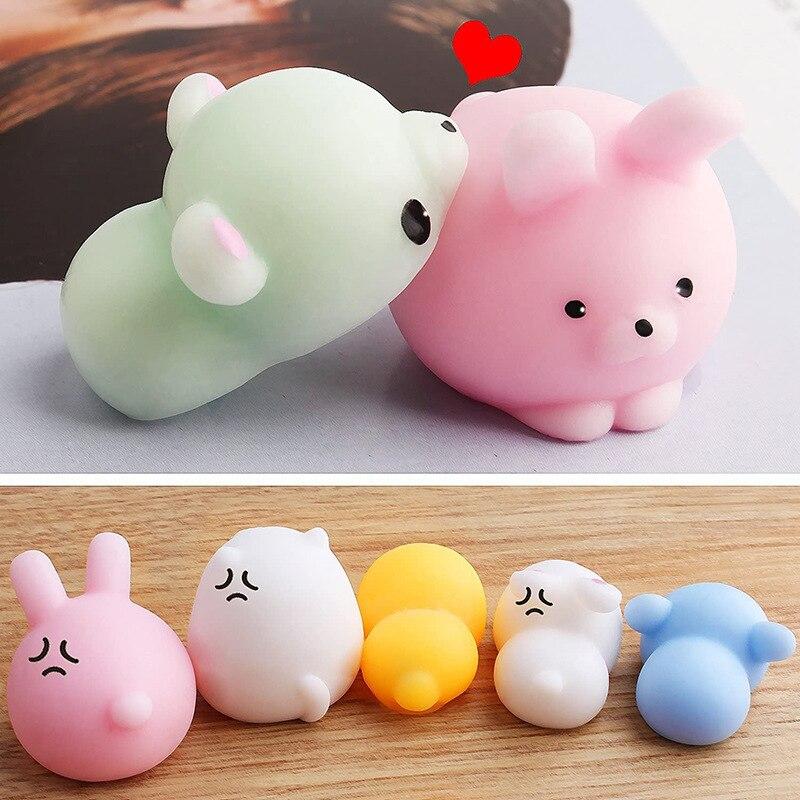 mochi fidget squishy cute animals fidget toy 7621 - Wacky Track