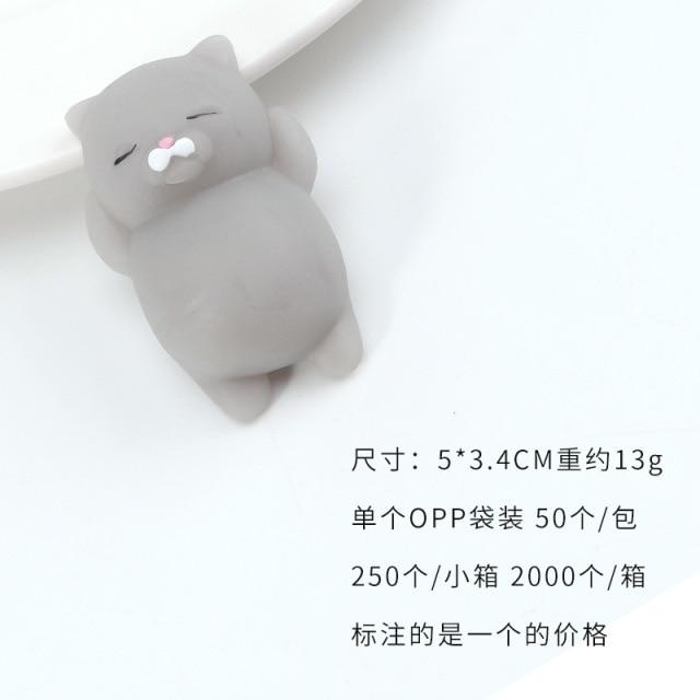 mochi fidget squishy cute animals fidget toy 8785 - Wacky Track