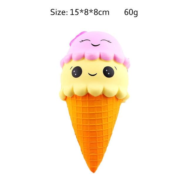 mochi fidget squishy ice cream fidget toy 7707 - Wacky Track