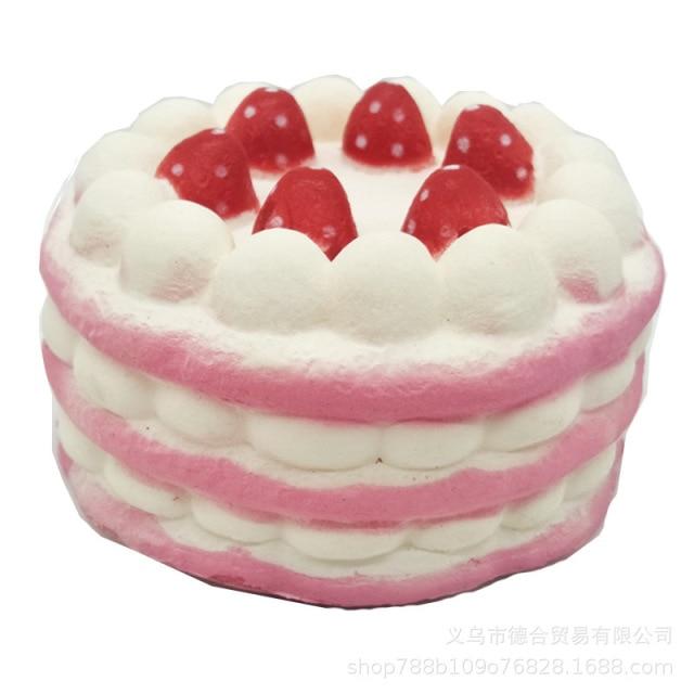 mochi fidget squishy sweet cake fidget toy 5267 - Wacky Track