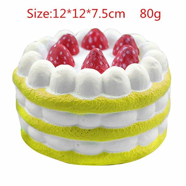 mochi fidget squishy sweet cake fidget toy 8291 - Wacky Track