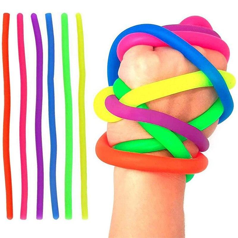 monkey noodle rubber band fidget toy 1185 - Wacky Track