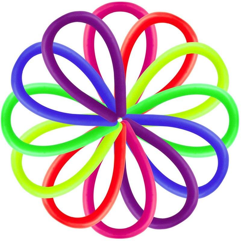 monkey noodle rubber band fidget toy 6158 - Wacky Track