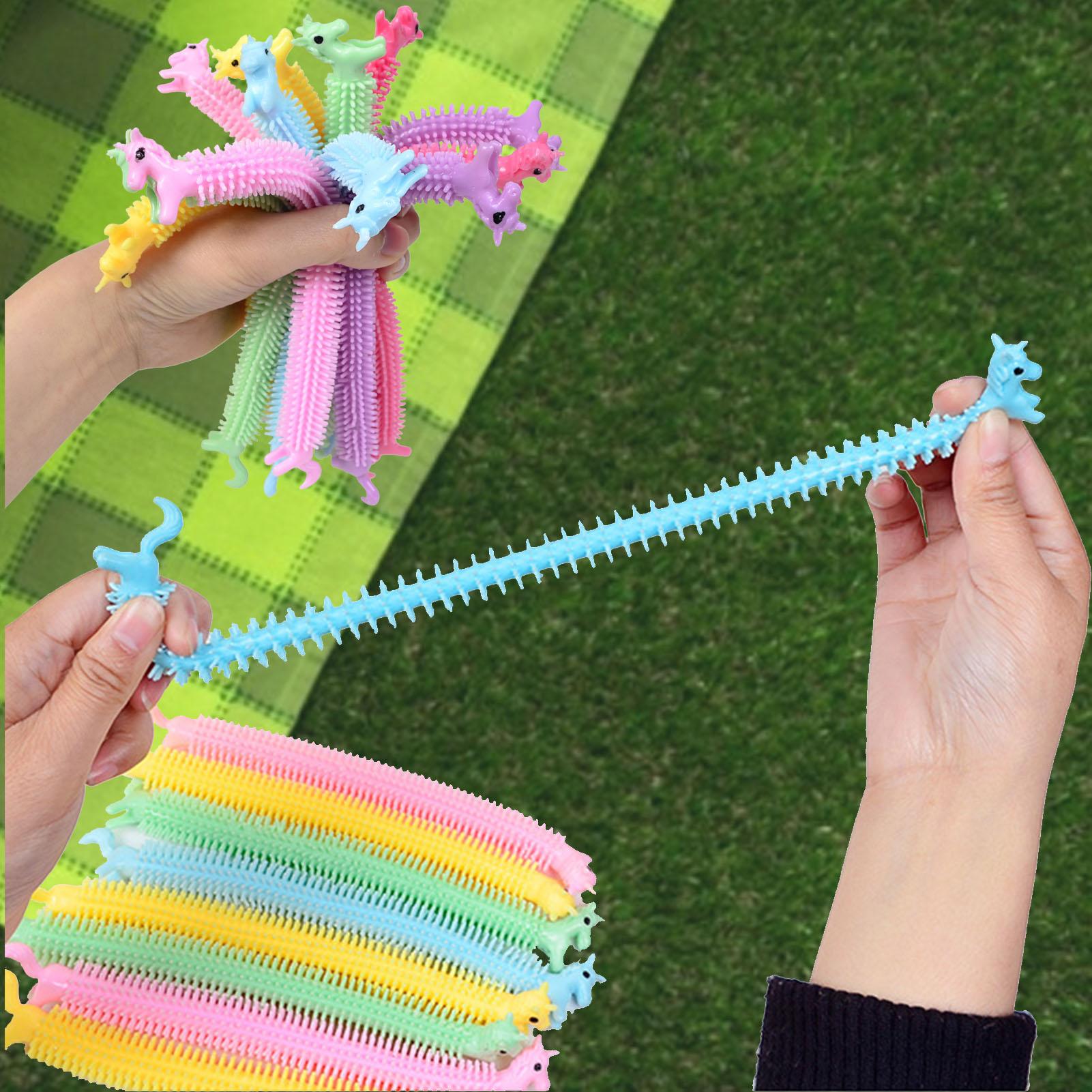 monkey noodle unicorn elastic rope stretchy fidget toy 2564 - Wacky Track