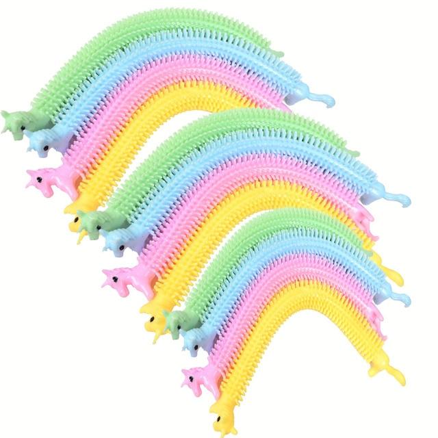 monkey noodle unicorn elastic rope stretchy fidget toy 2570 - Wacky Track