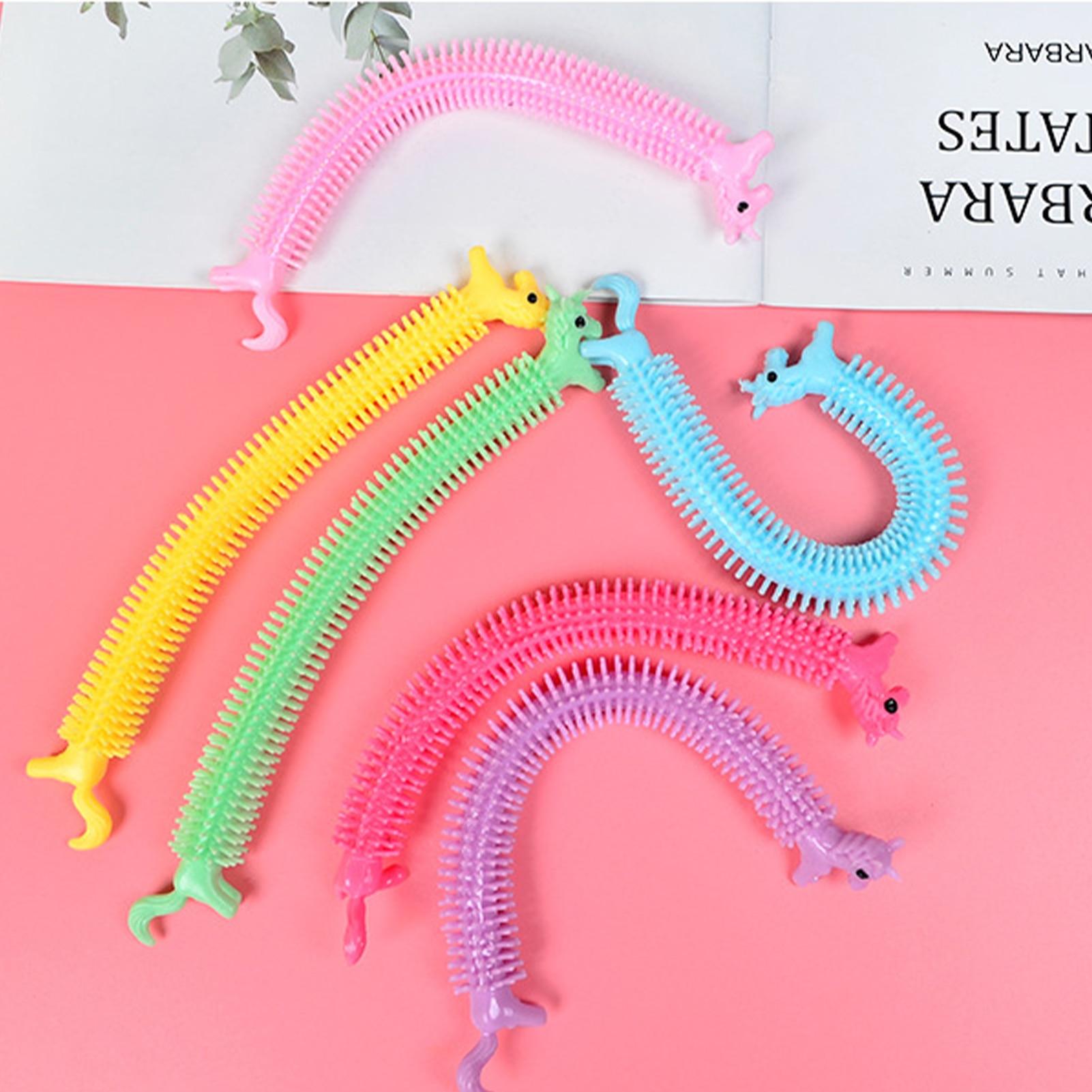 monkey noodle unicorn elastic rope stretchy fidget toy 8179 - Wacky Track