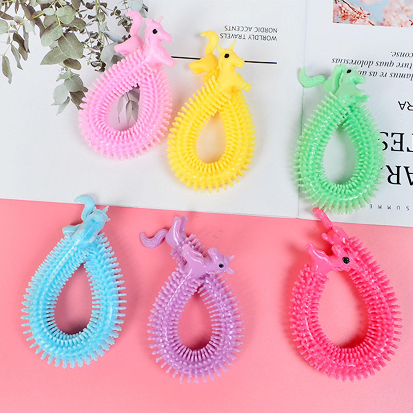 monkey noodle unicorn elastic rope stretchy fidget toy 8693 - Wacky Track