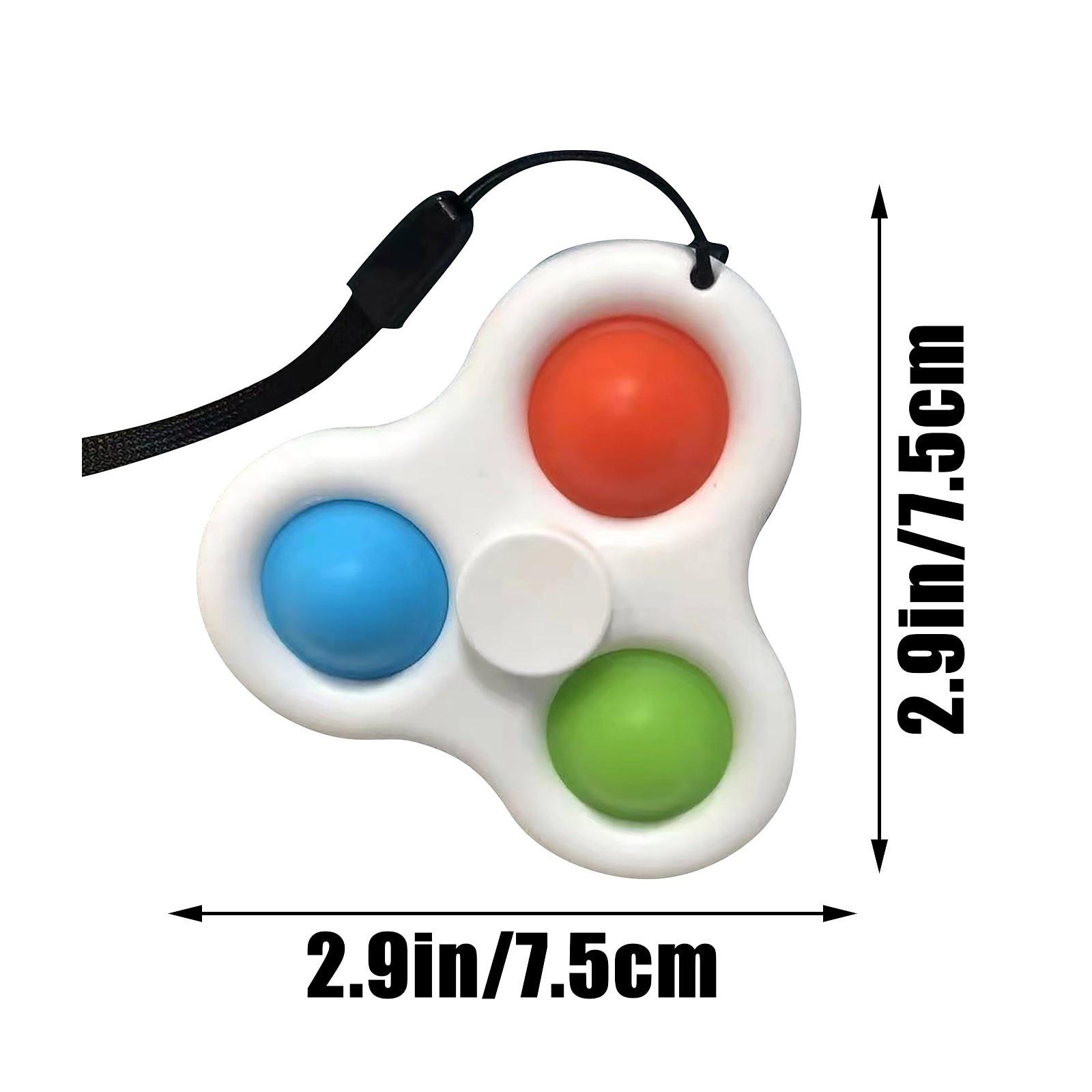 pop it 3 sided spinner fidget toy 1731 - Wacky Track