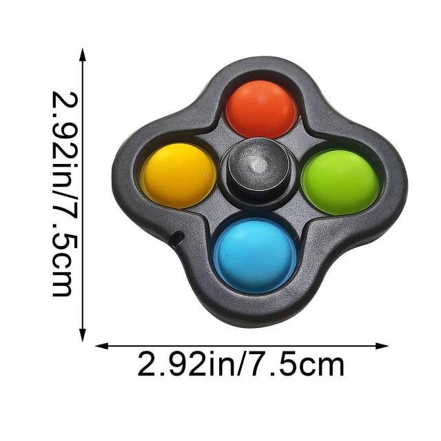 pop it 3 sided spinner fidget toy 3275 - Wacky Track