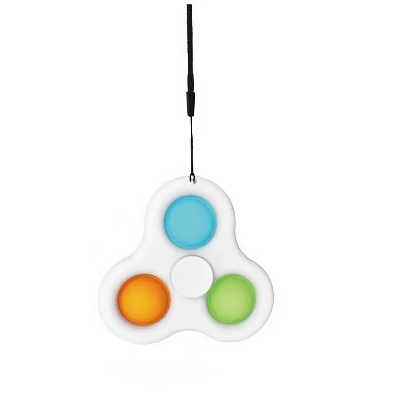 pop it 3 sided spinner fidget toy 5830 - Wacky Track
