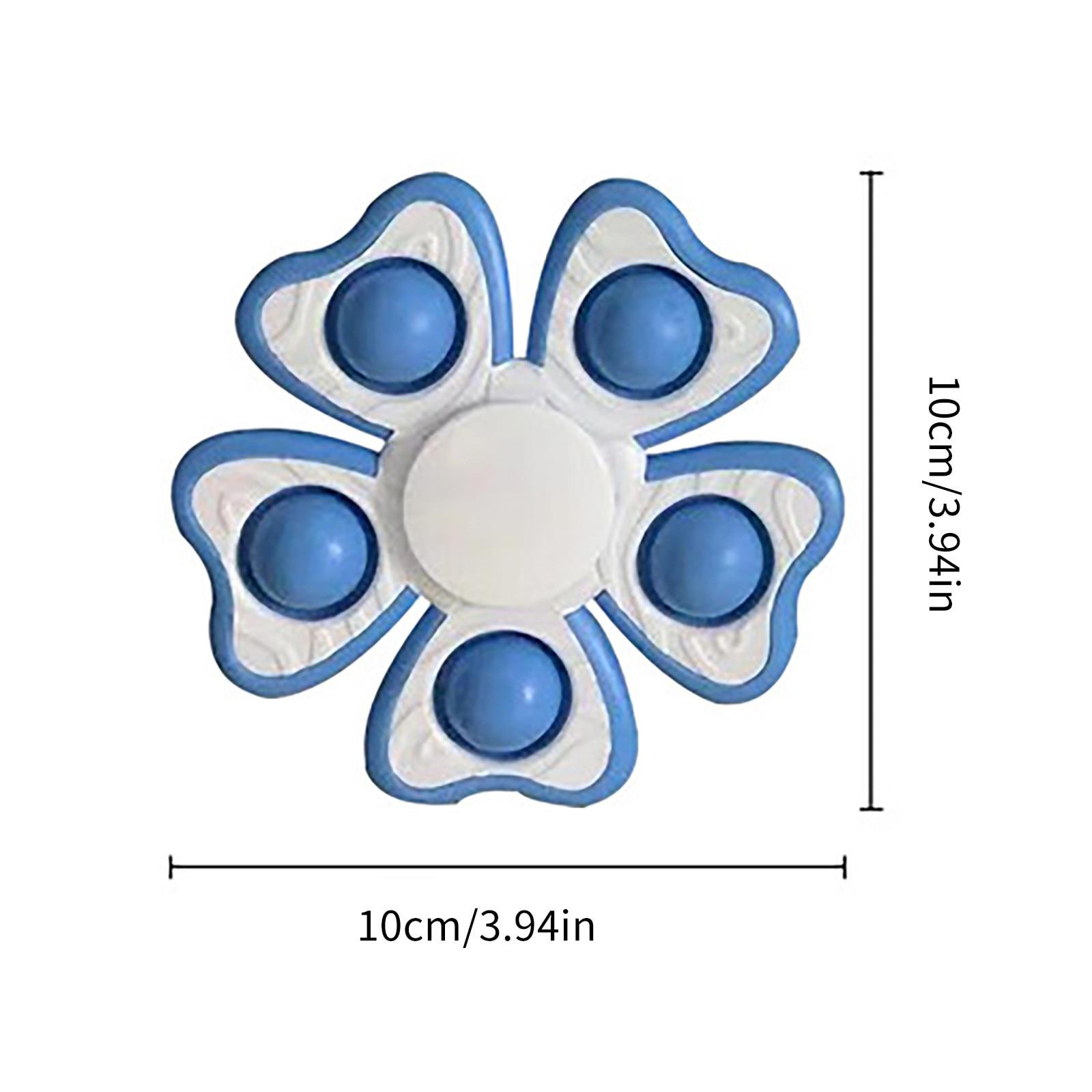 pop it 5 sides spinner fidget toy 5669 - Wacky Track