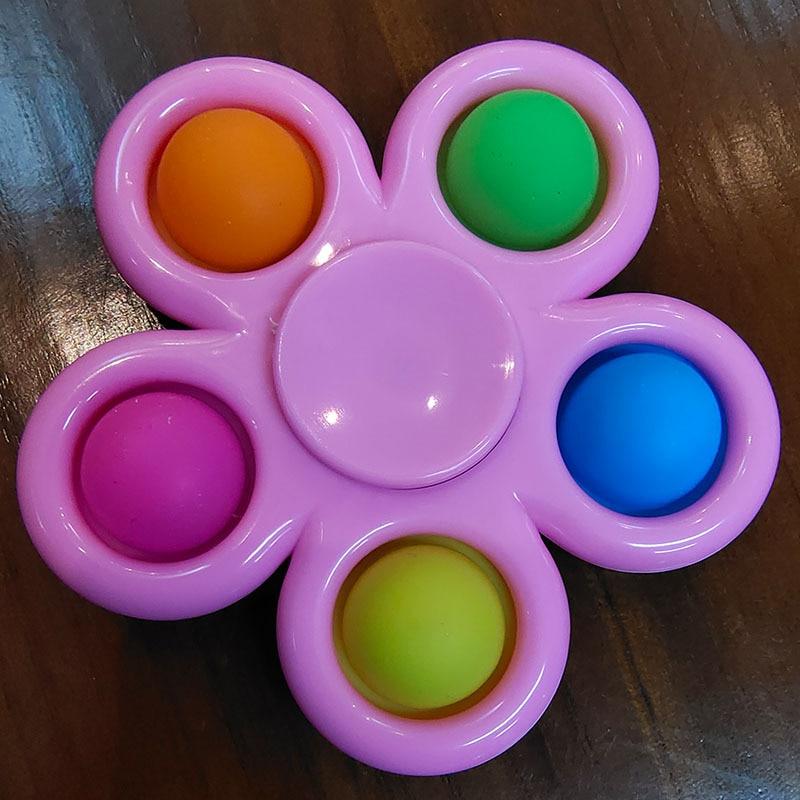pop it spinner 5 sides stress relief fidget toys 2954 - Wacky Track
