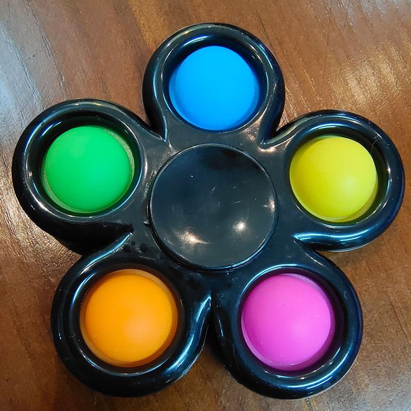 pop it spinner 5 sides stress relief fidget toys 3306 - Wacky Track