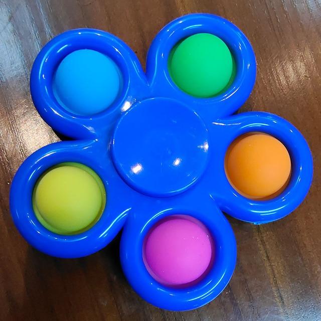pop it spinner 5 sides stress relief fidget toys 3965 - Wacky Track