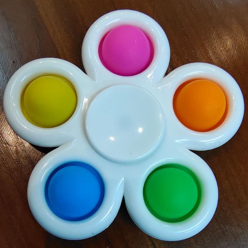 pop it spinner 5 sides stress relief fidget toys 4196 - Wacky Track