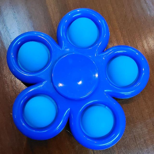 pop it spinner 5 sides stress relief fidget toys 5310 - Wacky Track