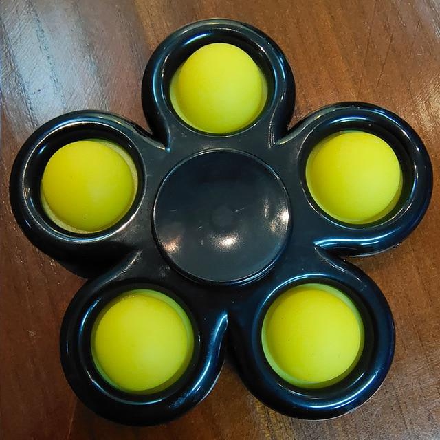 pop it spinner 5 sides stress relief fidget toys 5527 - Wacky Track
