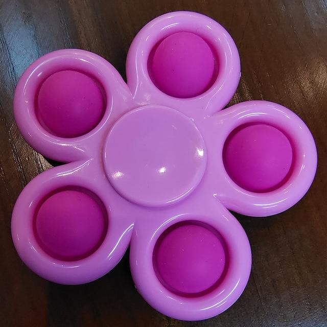 pop it spinner 5 sides stress relief fidget toys 7075 - Wacky Track