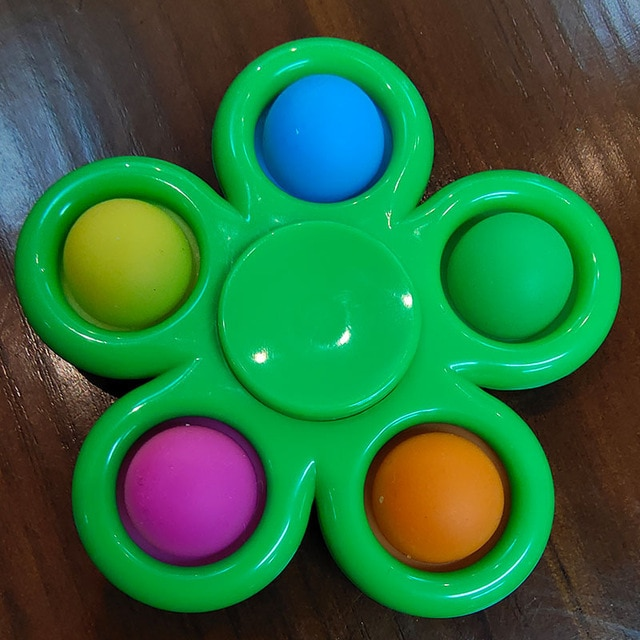 pop it spinner 5 sides stress relief fidget toys 7111 - Wacky Track