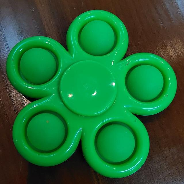 pop it spinner 5 sides stress relief fidget toys 7167 - Wacky Track