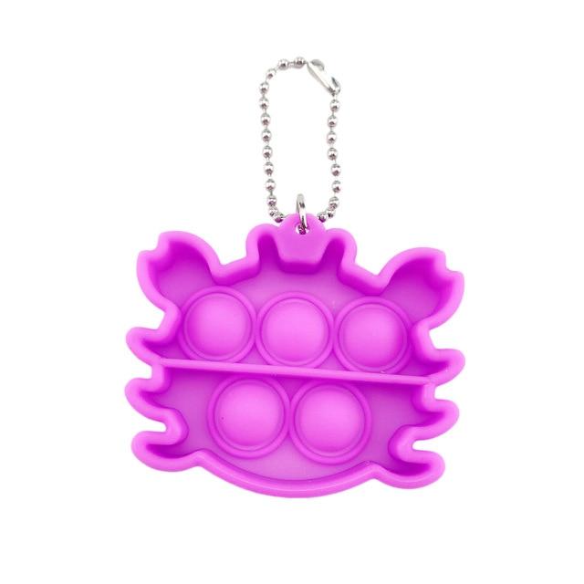 pop it crab keychain fidget toys 3269 - Wacky Track