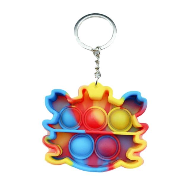 pop it crab keychain fidget toys 6991 - Wacky Track
