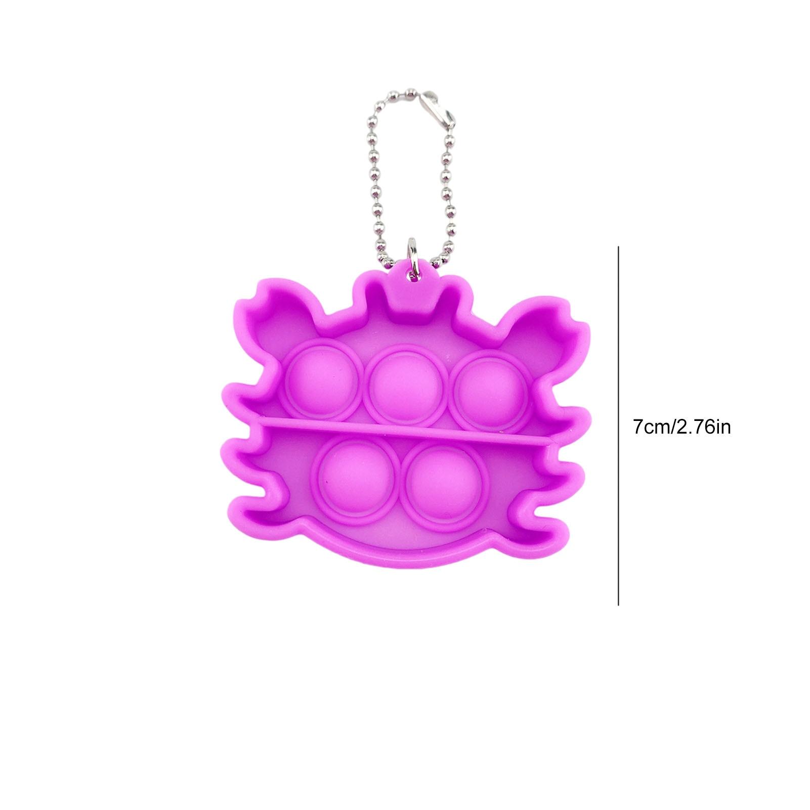 pop it crab keychain fidget toys 7148 - Wacky Track