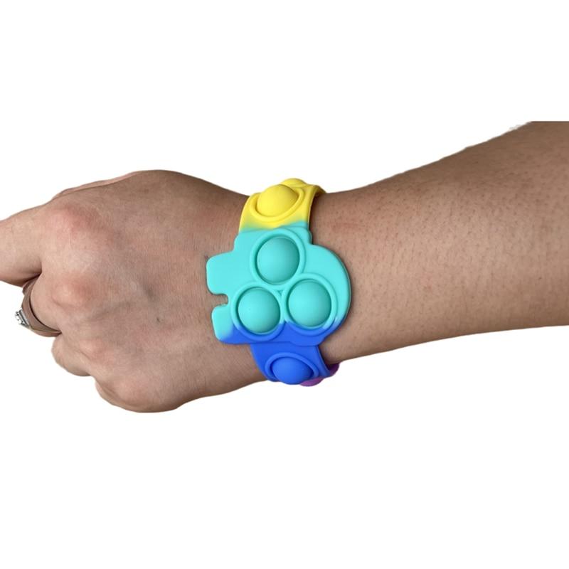 pop it among us bracelet fidget toy 5879 - Wacky Track