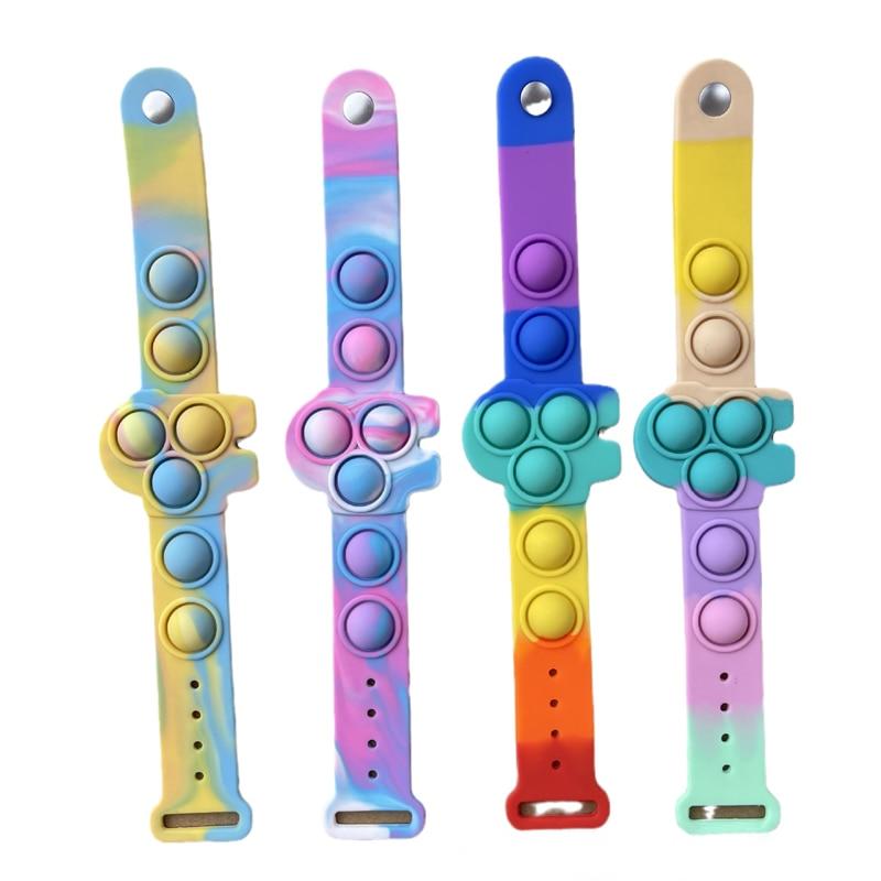 pop it among us bracelet fidget toy 7048 - Wacky Track