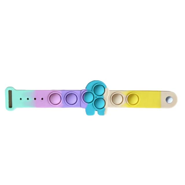 pop it among us bracelet fidget toy 8838 - Wacky Track