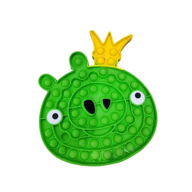 pop it angry bird pig fidget toy 6136 - Wacky Track