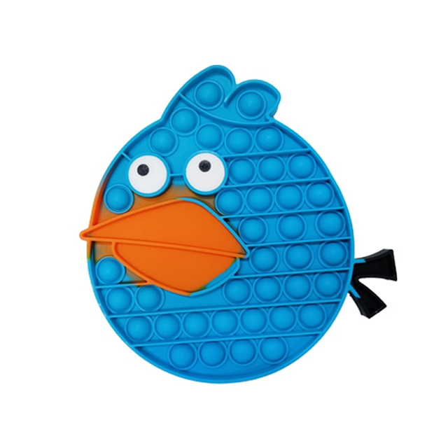 pop it angry bird the blue fidget toy 3022 - Wacky Track