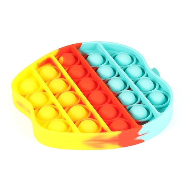 pop it apple fidget toys 5080 - Wacky Track