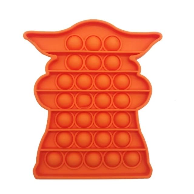 pop it baby yoda fidget toy 2592 - Wacky Track