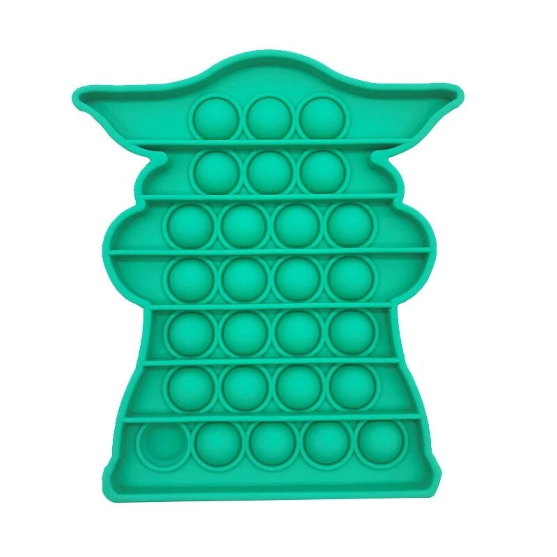pop it baby yoda fidget toy 2653 - Wacky Track