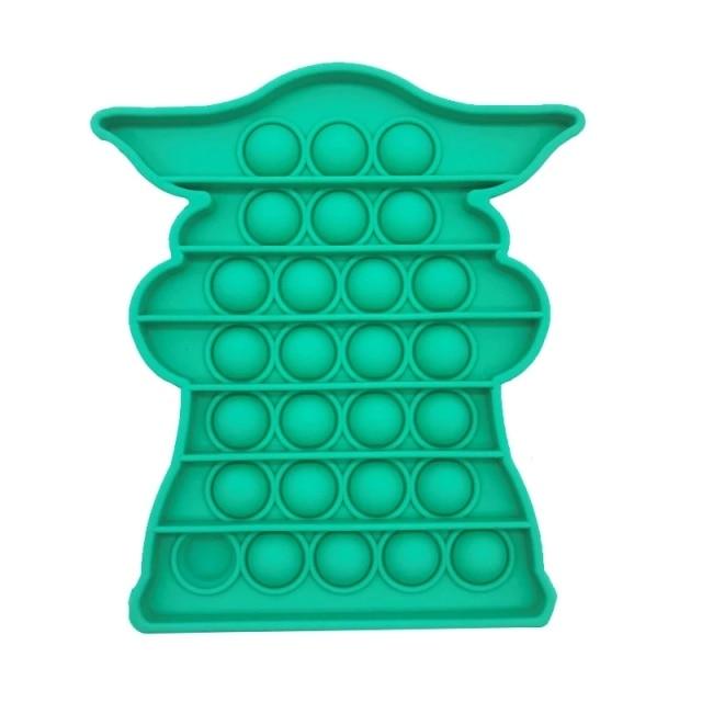 pop it baby yoda fidget toy 7655 - Wacky Track