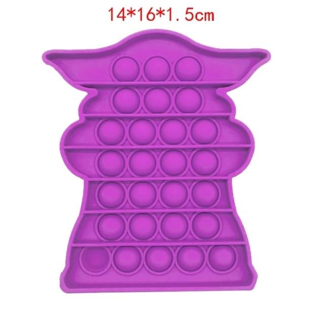 pop it baby yoda fidget toy 8775 - Wacky Track