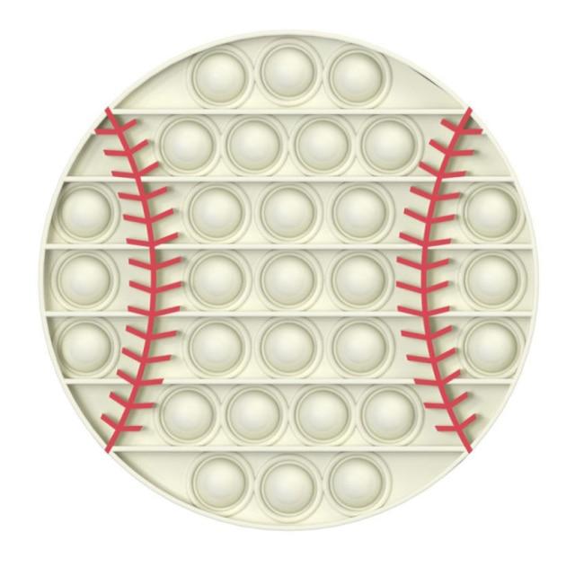 pop it baseball fidget toy 7719 - Wacky Track