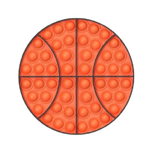 pop it basketball fidget toy 8392 - Wacky Track