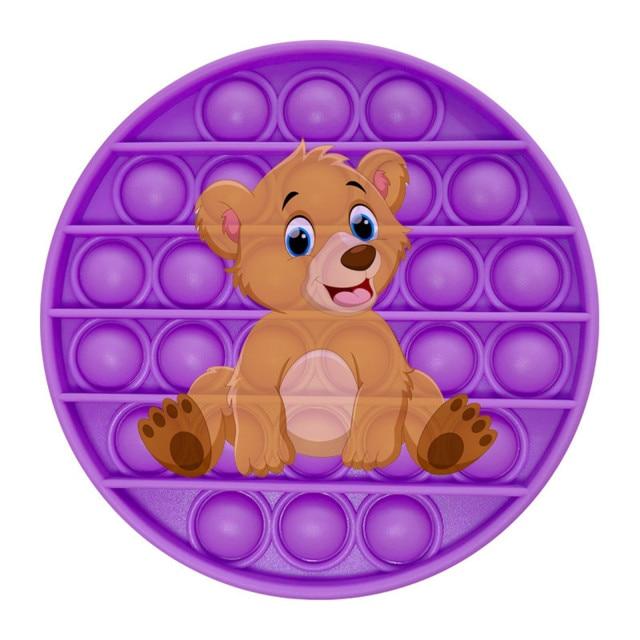 pop it bear image fidget toy 1400 - Wacky Track