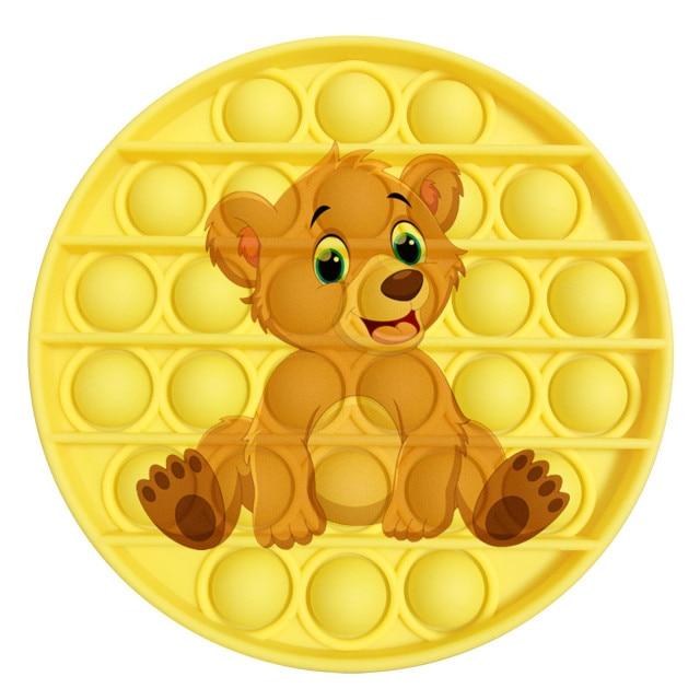pop it bear image fidget toy 1570 - Wacky Track